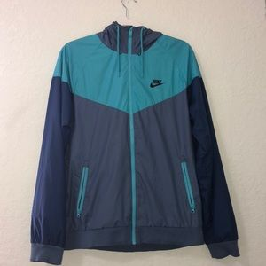 Blue Nike Windbreaker
